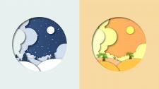 Создание иллюстраций для сайта в стиле Papercut