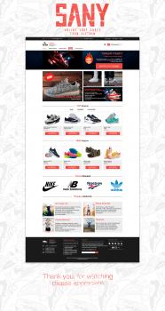 "Онлайн-магазин по продаже Вьетнамской обуви ""Sany"""