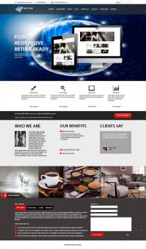 """Створення дизайну сайту """"Presstime"""""""