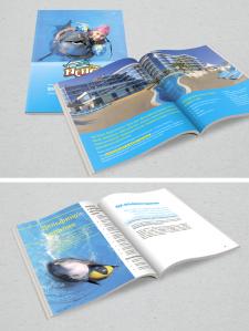 Буклет для дельфинария «Немо»