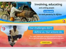 Создание сайта для благотворительной организации