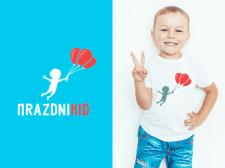 Логотип для организации детских праздников