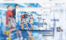 """Баннера на сайт для компании """"RADENA-SALON"""""""