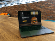 Website for fast food delivery