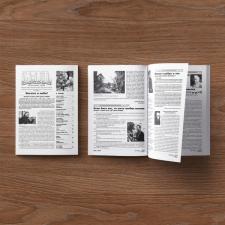 """""""Быль"""". Газета. Дизайн, макетирование, верстка."""