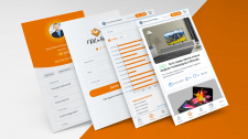 Дизайн для приложения Fox in Box