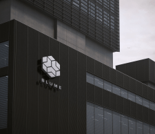 Здание - логотип офиса BLUME