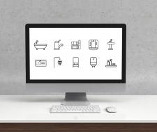 Иконки для интернет-магазина сантехники