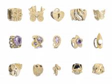 Коллекция ювелирных шармов 2
