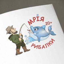 Эмблема для производителя рыболовных снастей