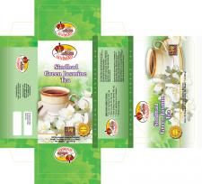 Упаковка для чая с жасмином