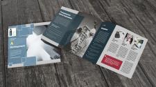 Дизайн брошюры для строительной компании.