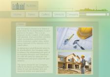 Макет сайта (Строительство)