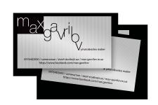 Визитные карточки фотографа-оператора