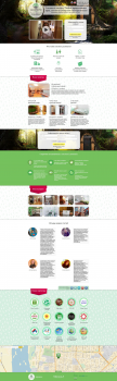 Lucomoria hostel (Landing page)