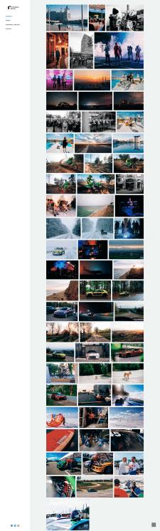 Сайт-портфолио киевского фотографа