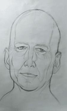 Портрет линейный