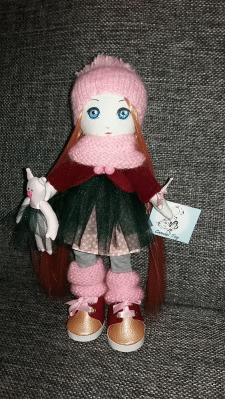 Кукла интерьерна, кукла авторская