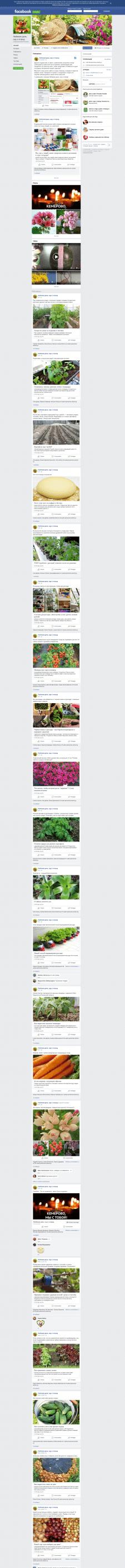 Сообщество Любимая дача, сад и огород