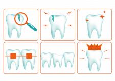 Иконки зубов