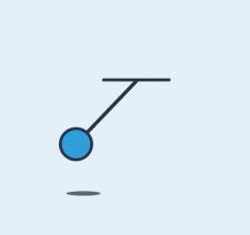 Circles and balls. Jumping and pendulum