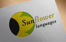 Логотип для Sunflower languages