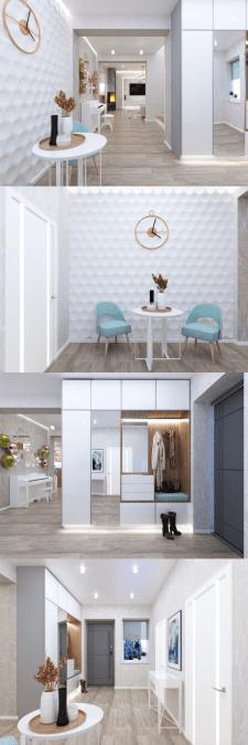 Дизайн частного дома. Прихожая
