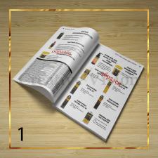 Разработка дизайна и вёрстка каталога