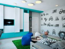 Дитяча кімната для хлопців