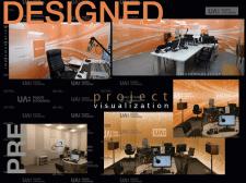 Розробка дизайну студії мовлення Радіо ПРОМІНЬ