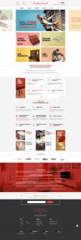 Сайт компании по изготовлению мебели