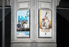 Постеры для фестиваля музыки U-Park