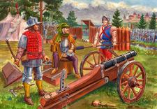 Бургундская полевая артиллерия второй половины 15в