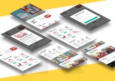Разработка Landing-page для социального проекта