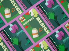Дизайн постеров для Колледжа искусств и дизайна