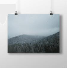Серия фотографий для календаря про Карпаты, Украин