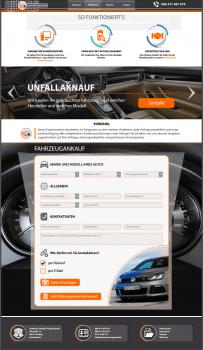 Autoankauf сайт визитка по покупке авто в Германии