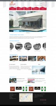 Сайт для солнцезащитный систем