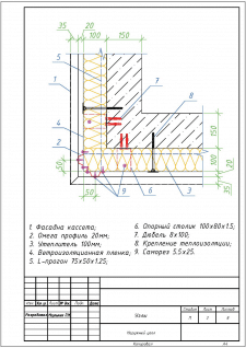 Типовые узлы вентфасада. Каталог
