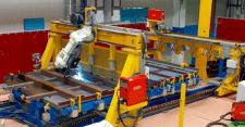 Автоматизированый комплекс по сварке торцевых стен