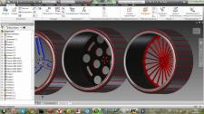 Разработка дизайна дисков для авто