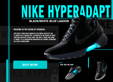 Design Nike Hyperadapt