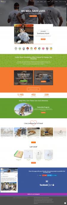 Разработка функций для сайта Lucky Hunt