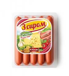 Разработка этикетки на сосиски