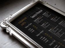 Разработка меню для гриль-бара Tabacco Bar