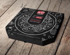 Розробка дизайну коробки для піци