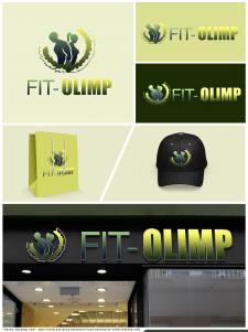 """Логотип для фитнес-клуба """" FIT-OLIMP"""""""