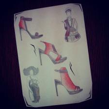 Shoes sketch