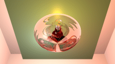 тарелка светильник