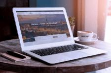 Сайт для туристического агентства Lilija Reisen